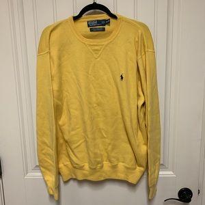 Men's Ralph Lauren Polo Sweater / Yellow
